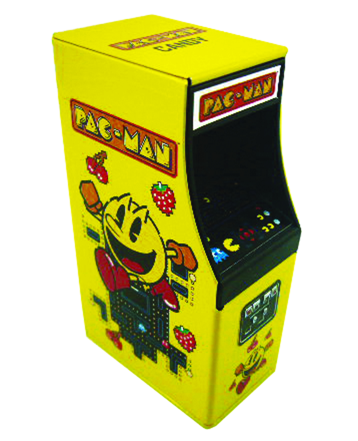 PAC-MAN CABINET CANDY TIN 12CT DISP