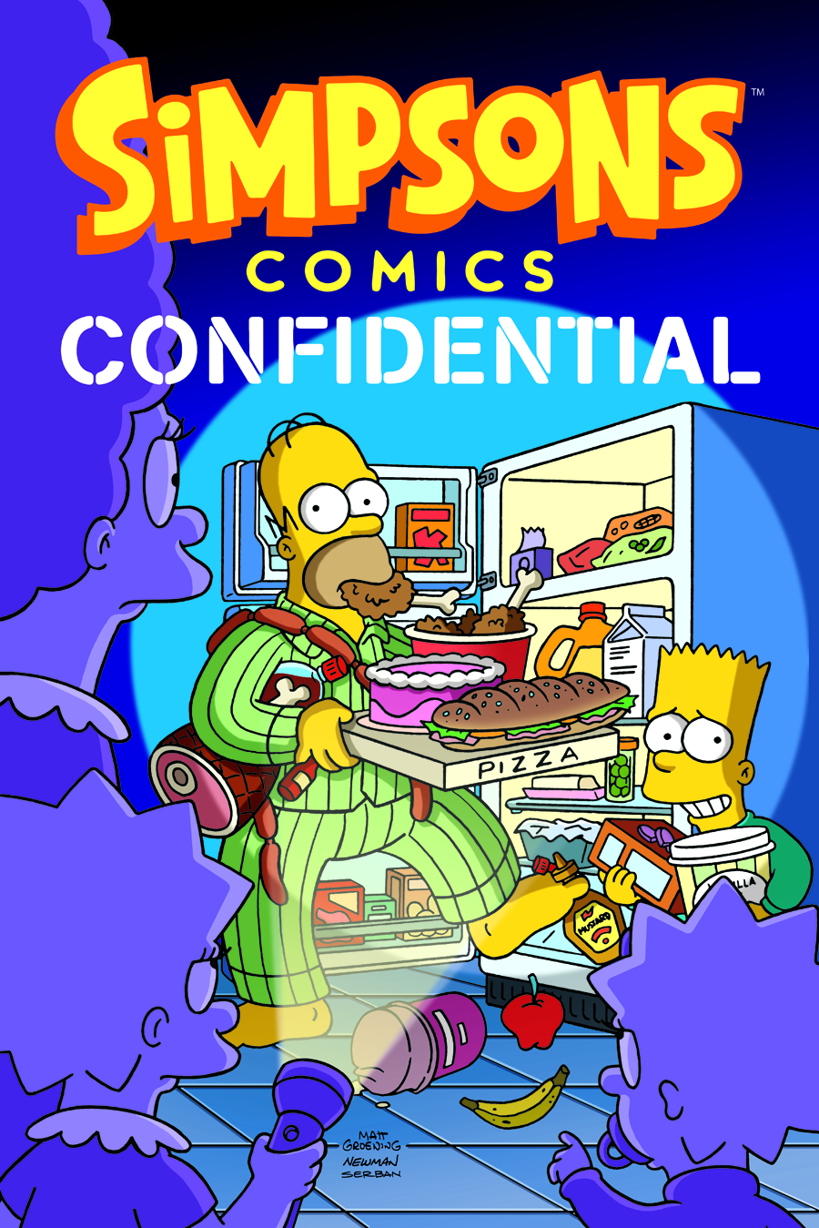 SIMPSONS COMICS TP VOL 20 CONFIDENTIAL