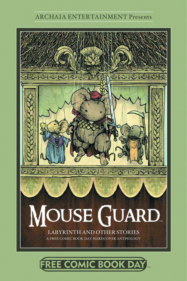 FCBD 2012 MOUSE GUARD LABYRINTH & MORE HC