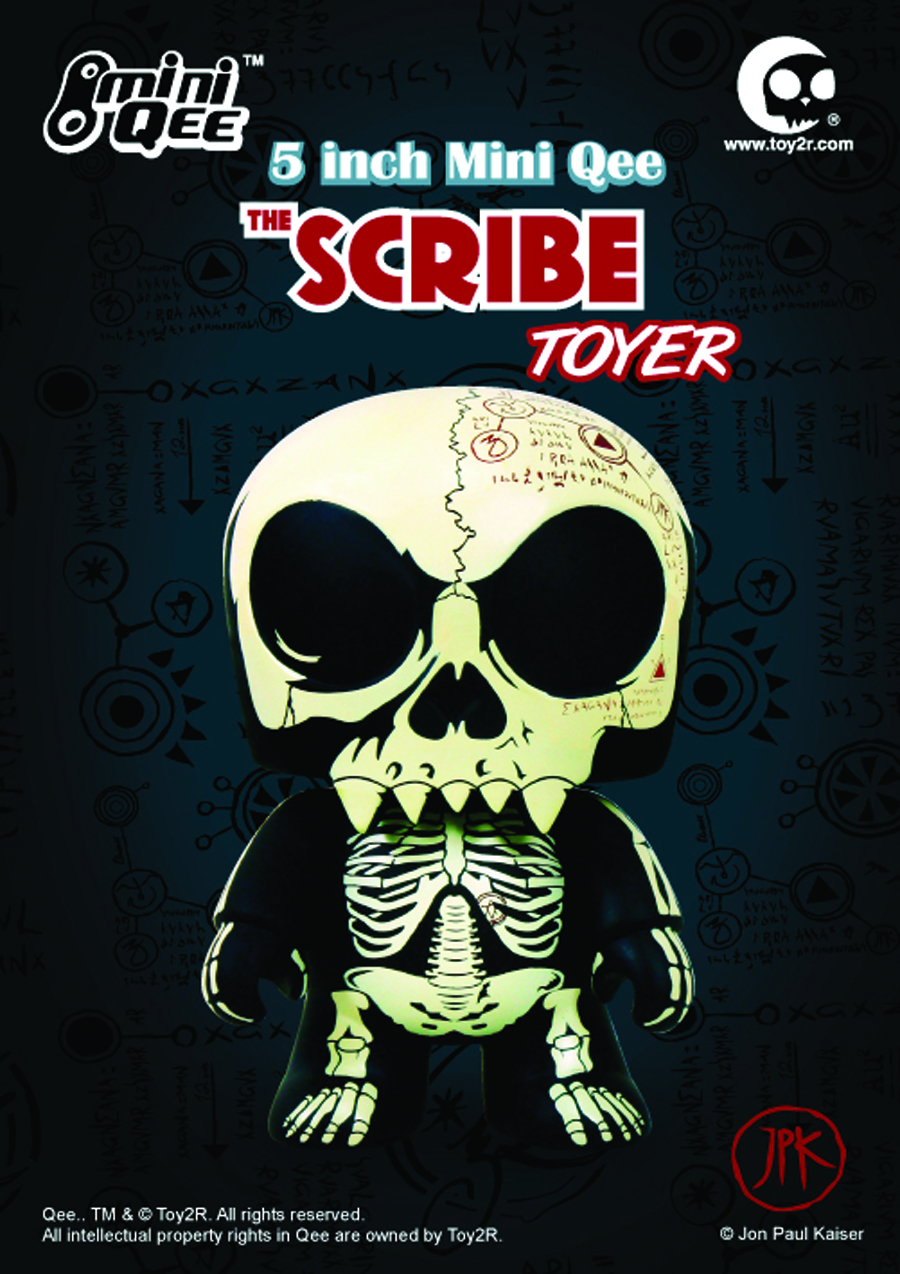 SCRIBE TOYER 5IN MINI QEE VINYL FIG