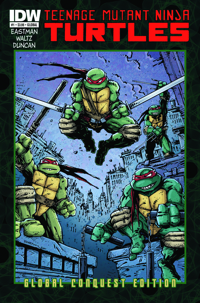 TMNT ONGOING #1 GLOBAL CONQUEST ED
