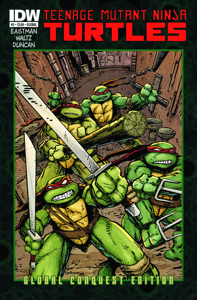 TMNT ONGOING #2 GLOBAL CONQUEST ED