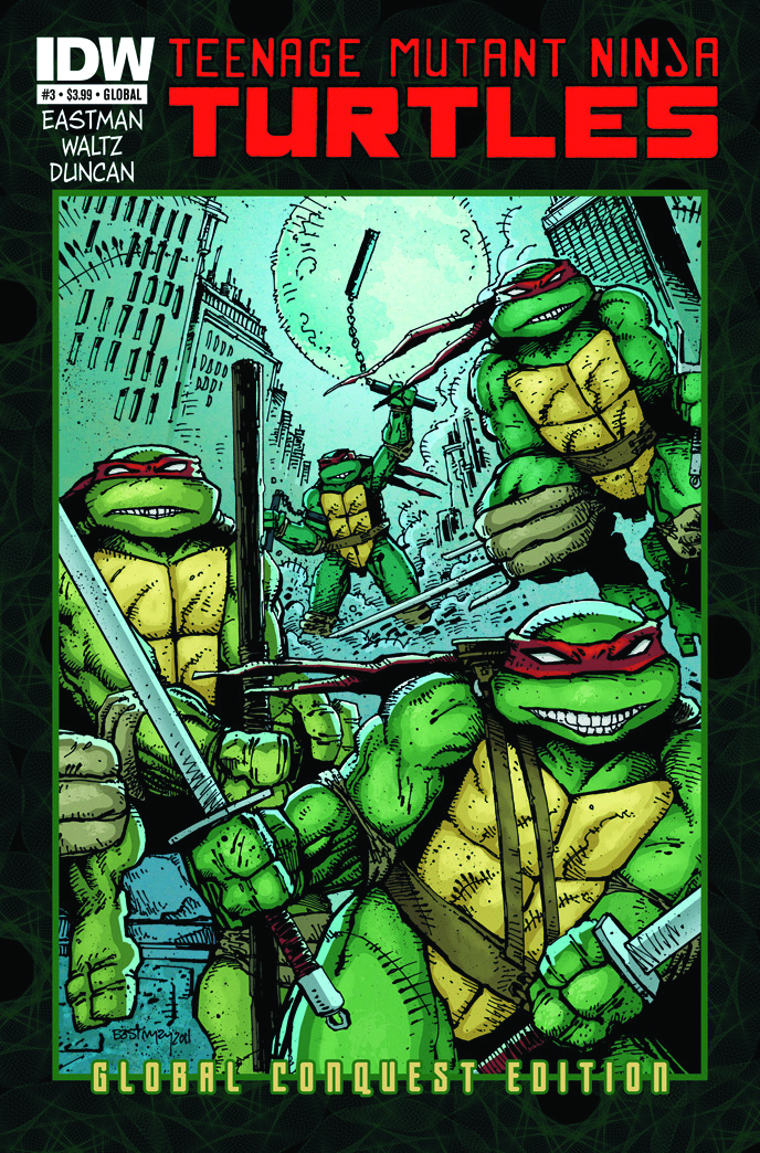 TMNT ONGOING #3 GLOBAL CONQUEST ED