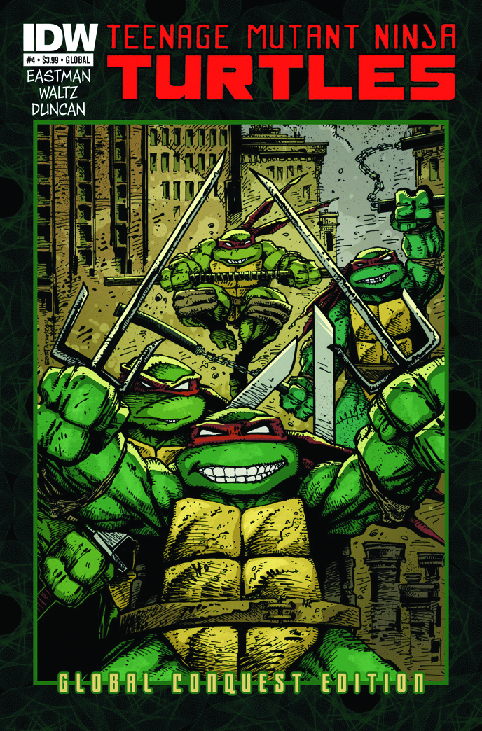 TMNT ONGOING #4 GLOBAL CONQUEST ED