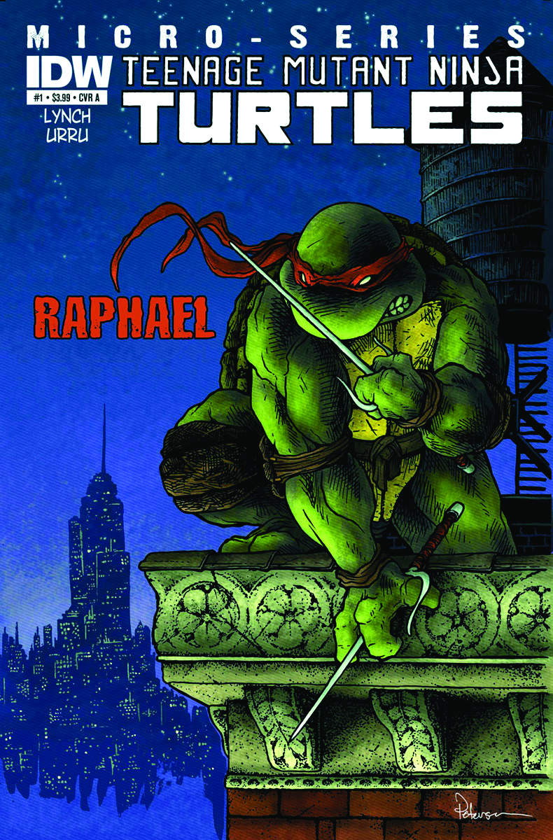 TMNT MICRO SERIES #1 RAPHAEL GLOBAL CONQUEST ED