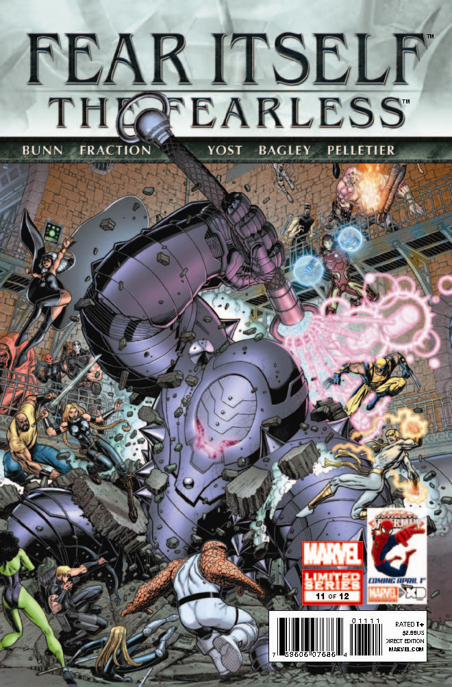 FEAR ITSELF FEARLESS #11 (OF 12)