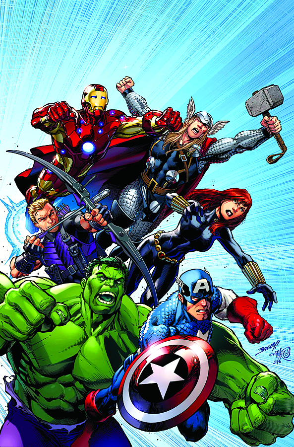 AVENGERS ASSEMBLE #1 WITH DIG CDE