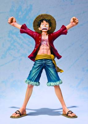 ONE PIECE LUFFY FIGUARTS ZERO NEW WORLD VER