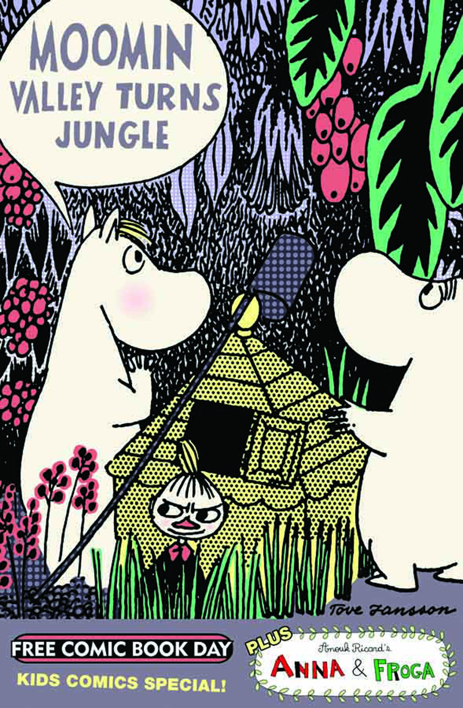 FCBD 2012 MOOMIN COLOR SPECIAL