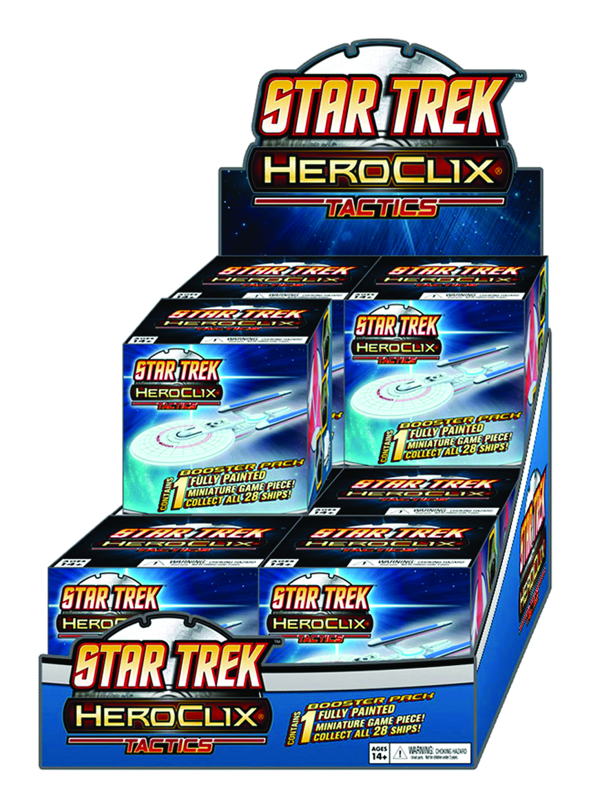 STAR TREK TACTICS HEROCLIX 12 CT DISPLAY