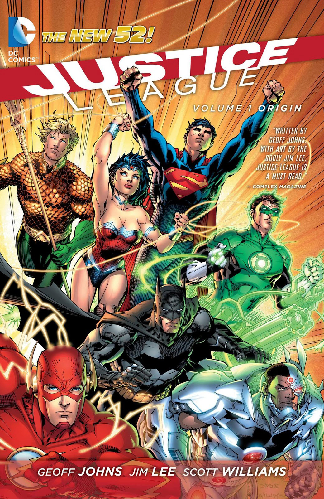 JUSTICE LEAGUE HC VOL 01 ORIGIN