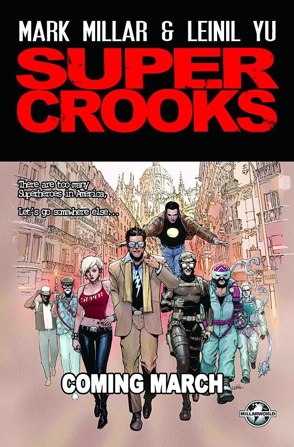 SUPERCROOKS #1 (OF 4) (MR)