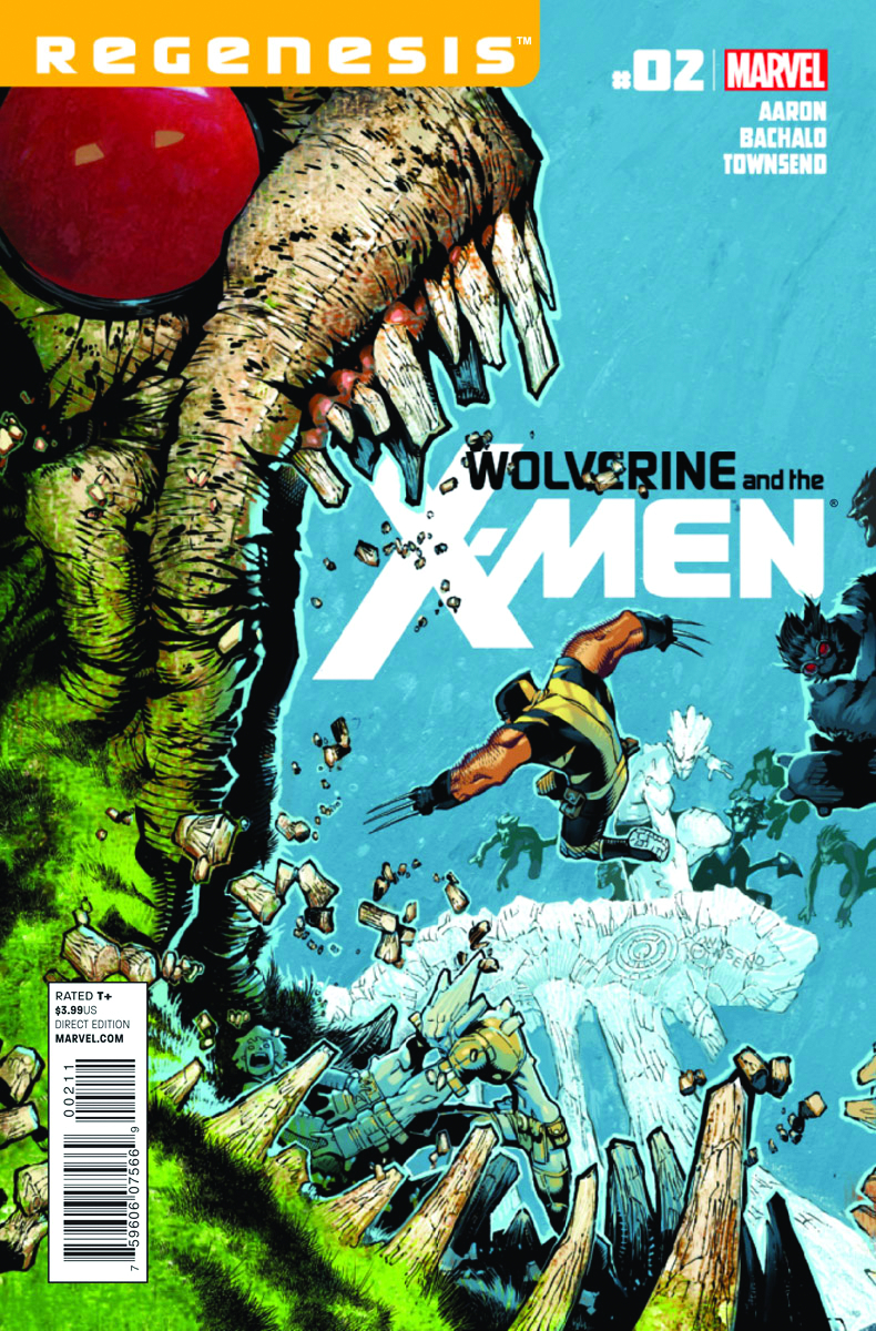 WOLVERINE AND X-MEN #2 2ND PTG BACHALO VAR XREGG