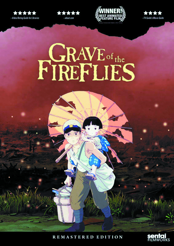 GRAVE OF THE FIREFLIES REMASTERED ED DVD
