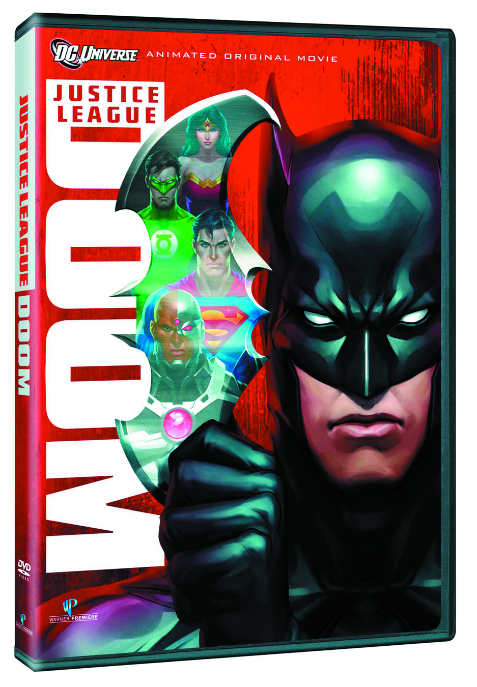 DCU JUSTICE LEAGUE DOOM DVD