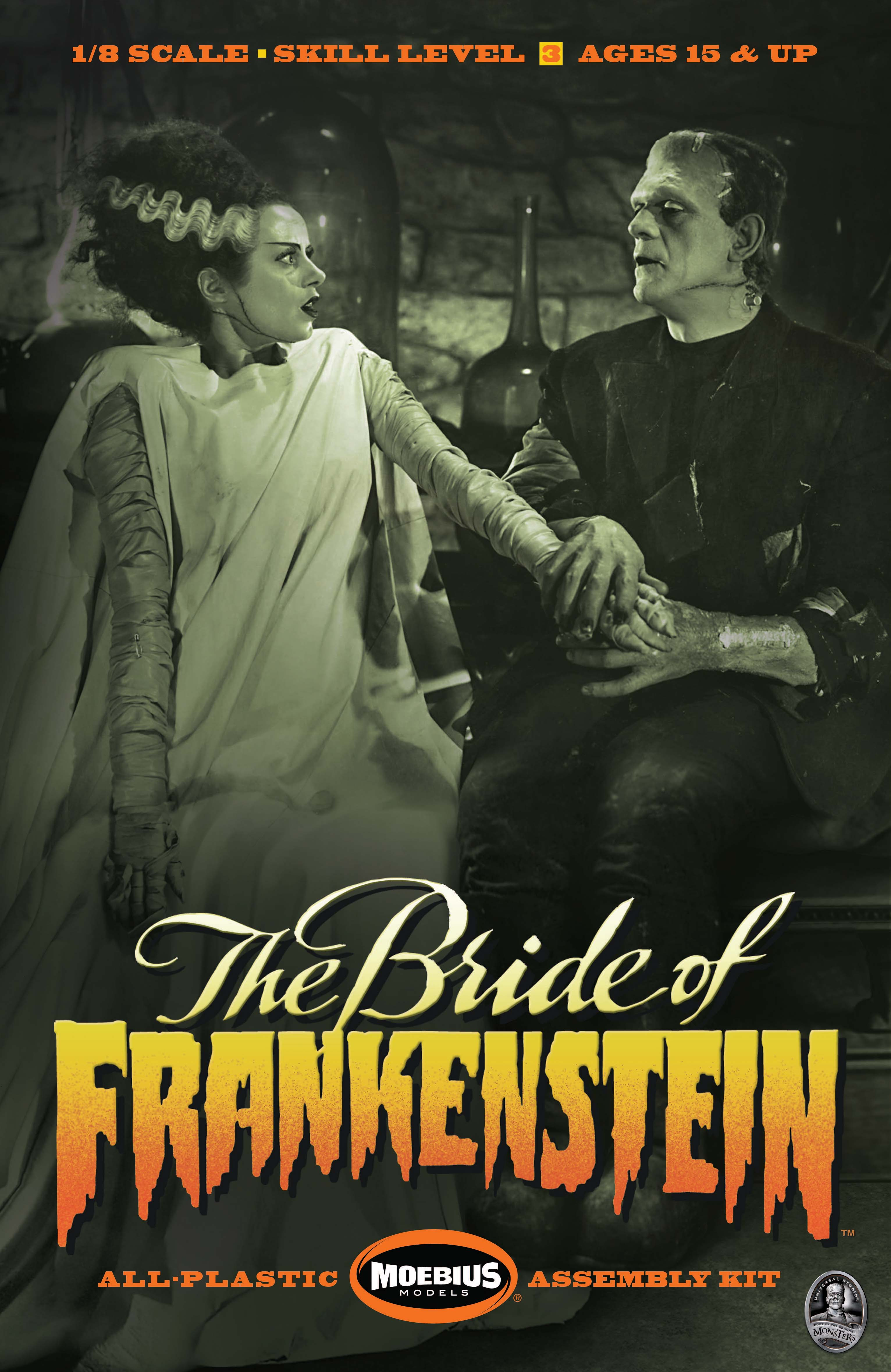 BRIDE OF FRANKENSTEIN MODEL KIT