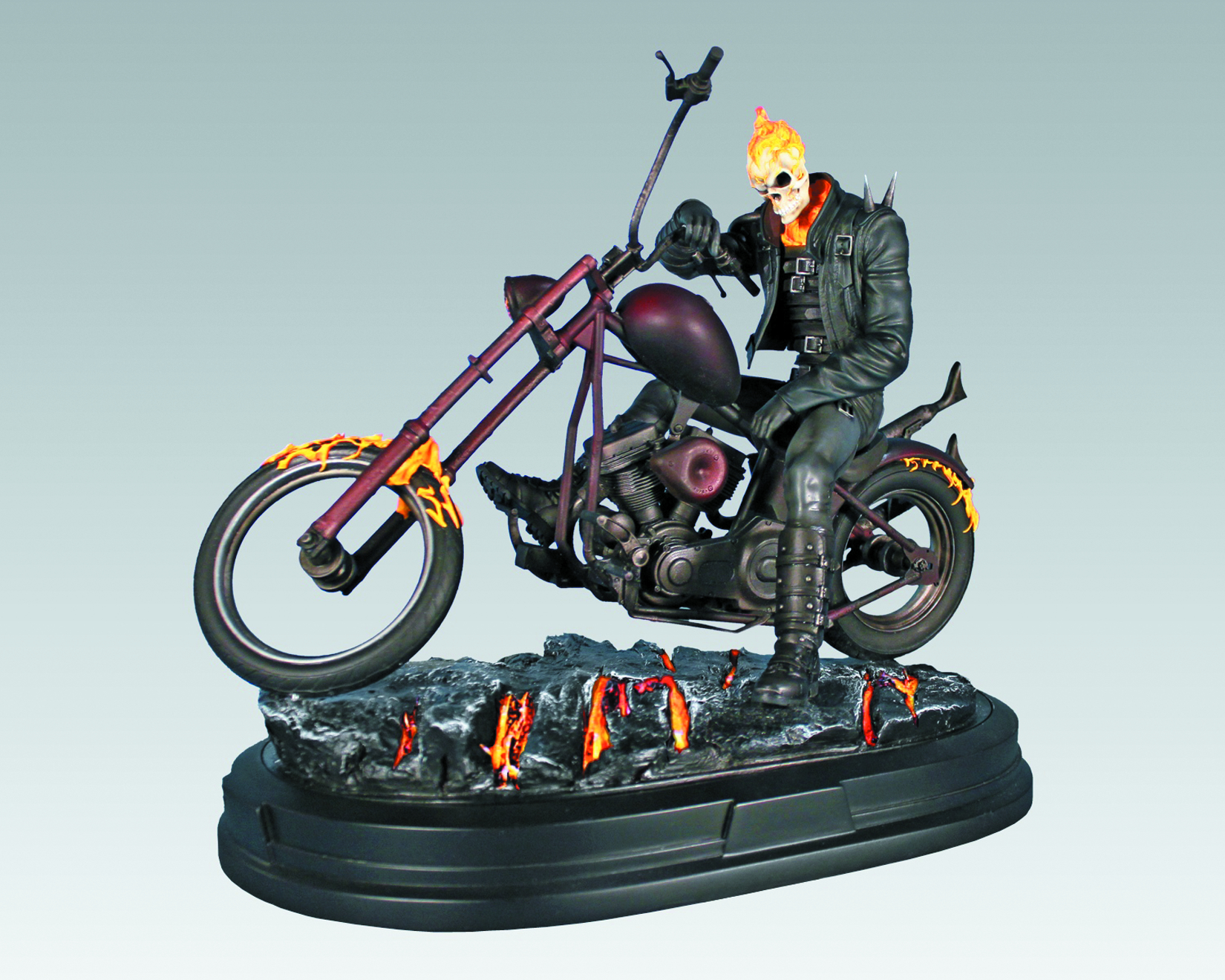 GENTLE GIANT GHOST RIDER STATUE