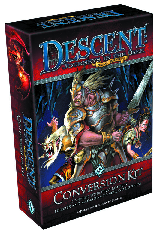 DESCENT JOURNEYS IN THE DARK 2ND ED CONVERSION KIT