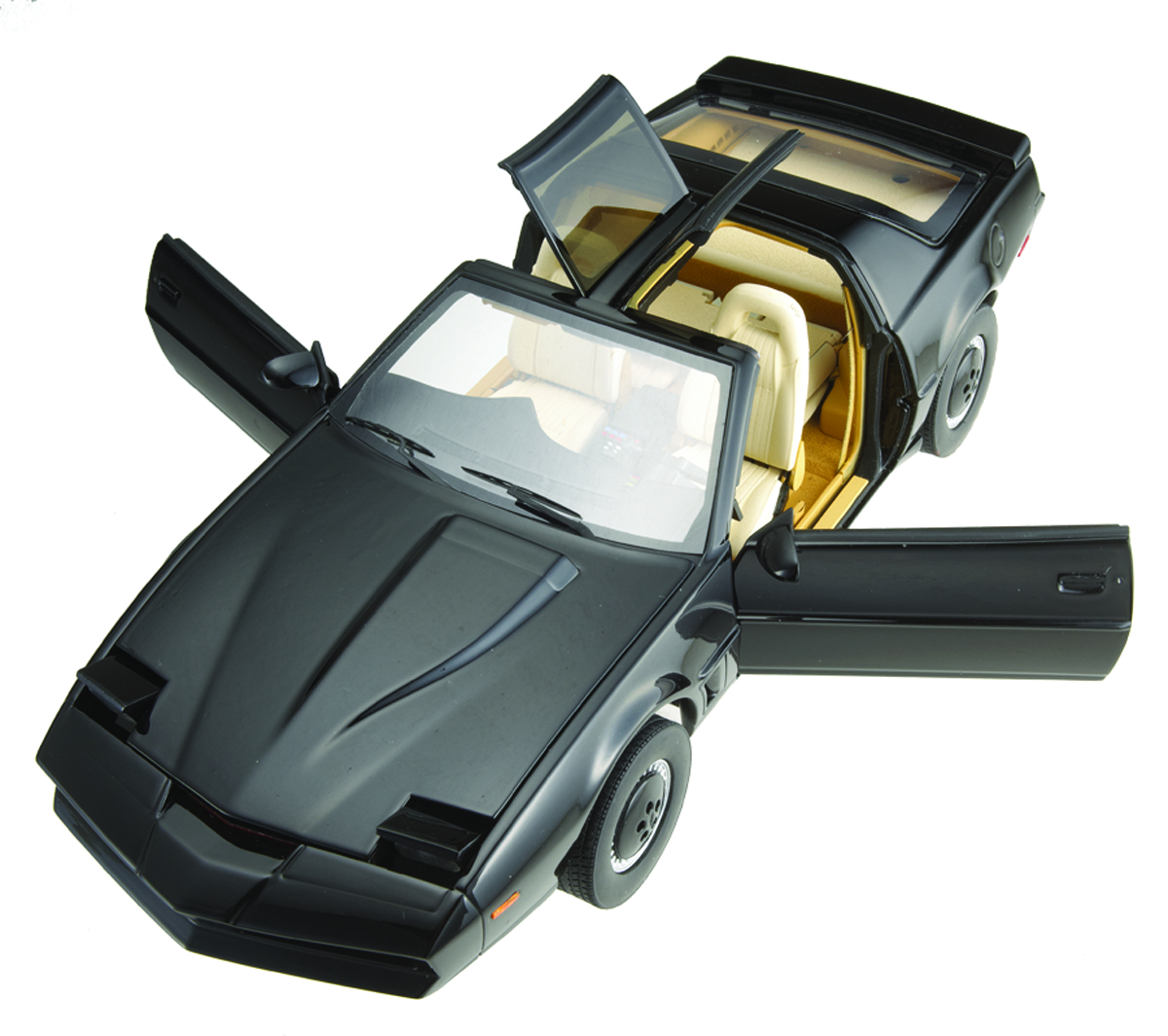 HW ELITE KNIGHT RIDER 1/18 KITT DIE-CAST