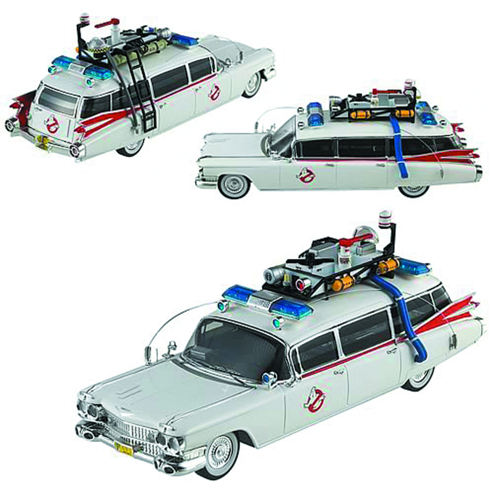 HW CULT CLASSICS GHOSTBUSTERS 1/43 ECTO-1A DIE-CAST