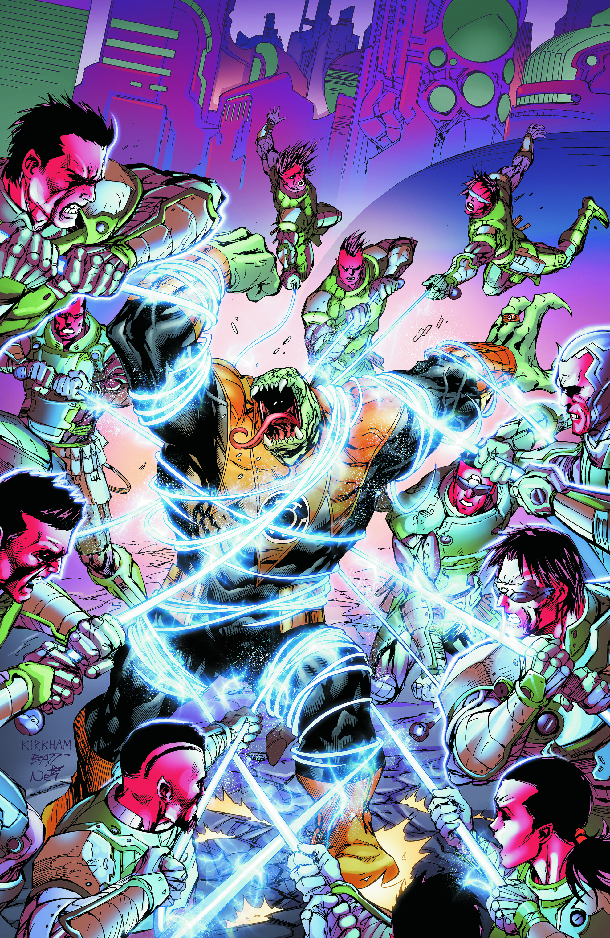 GREEN LANTERN NEW GUARDIANS #8
