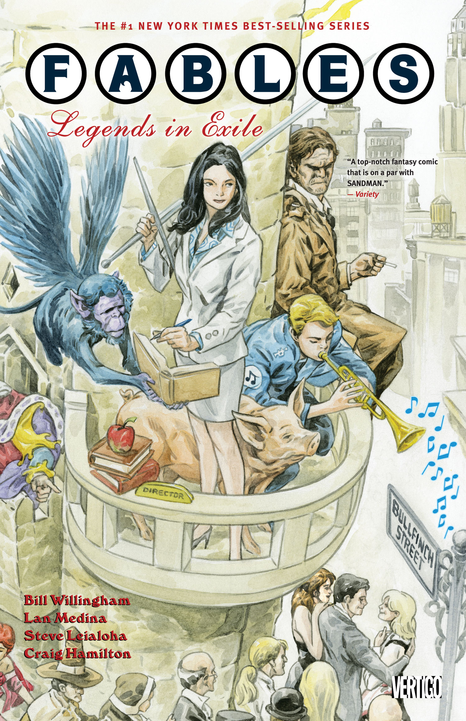 FABLES TP VOL 01 LEGENDS IN EXILE NEW ED