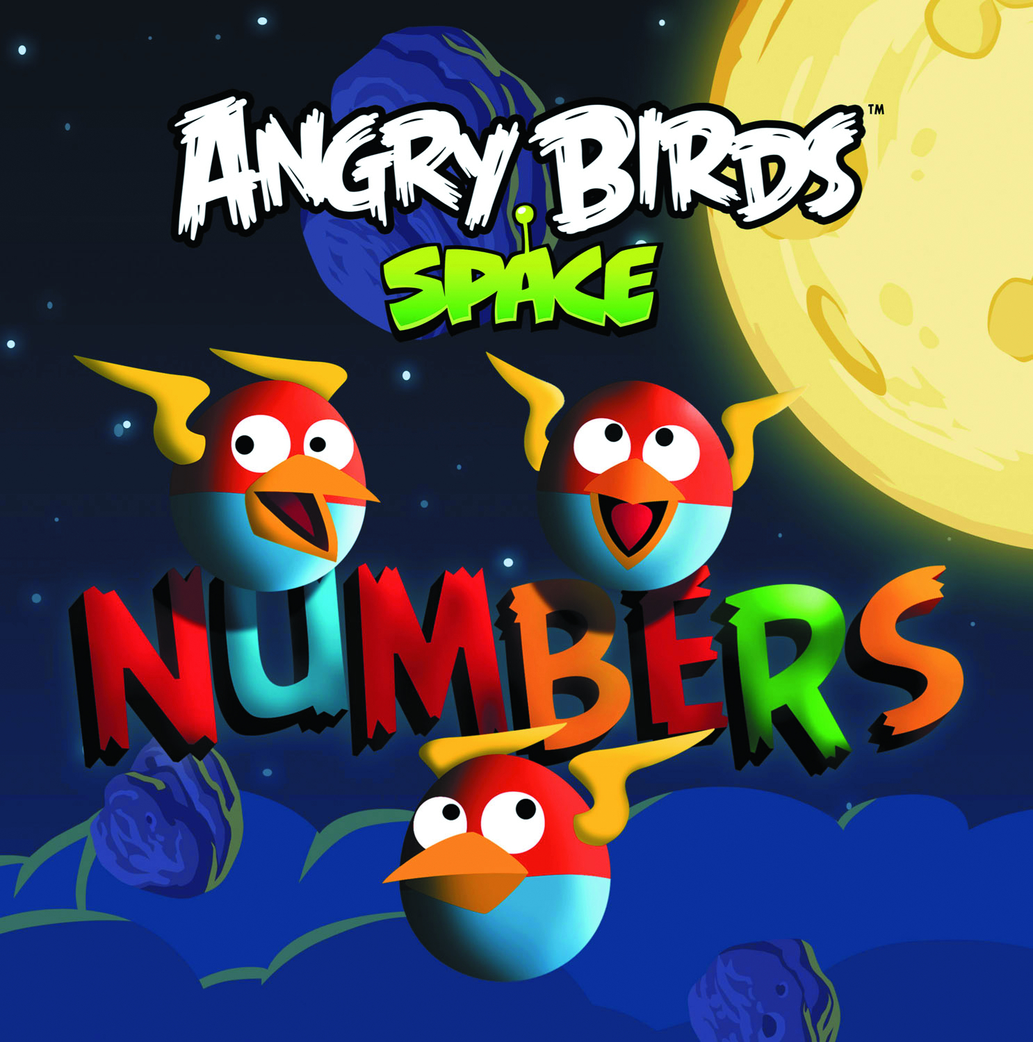 ANGRY BIRDS SPACE NUMBERS BOARD BOOK (O/A)