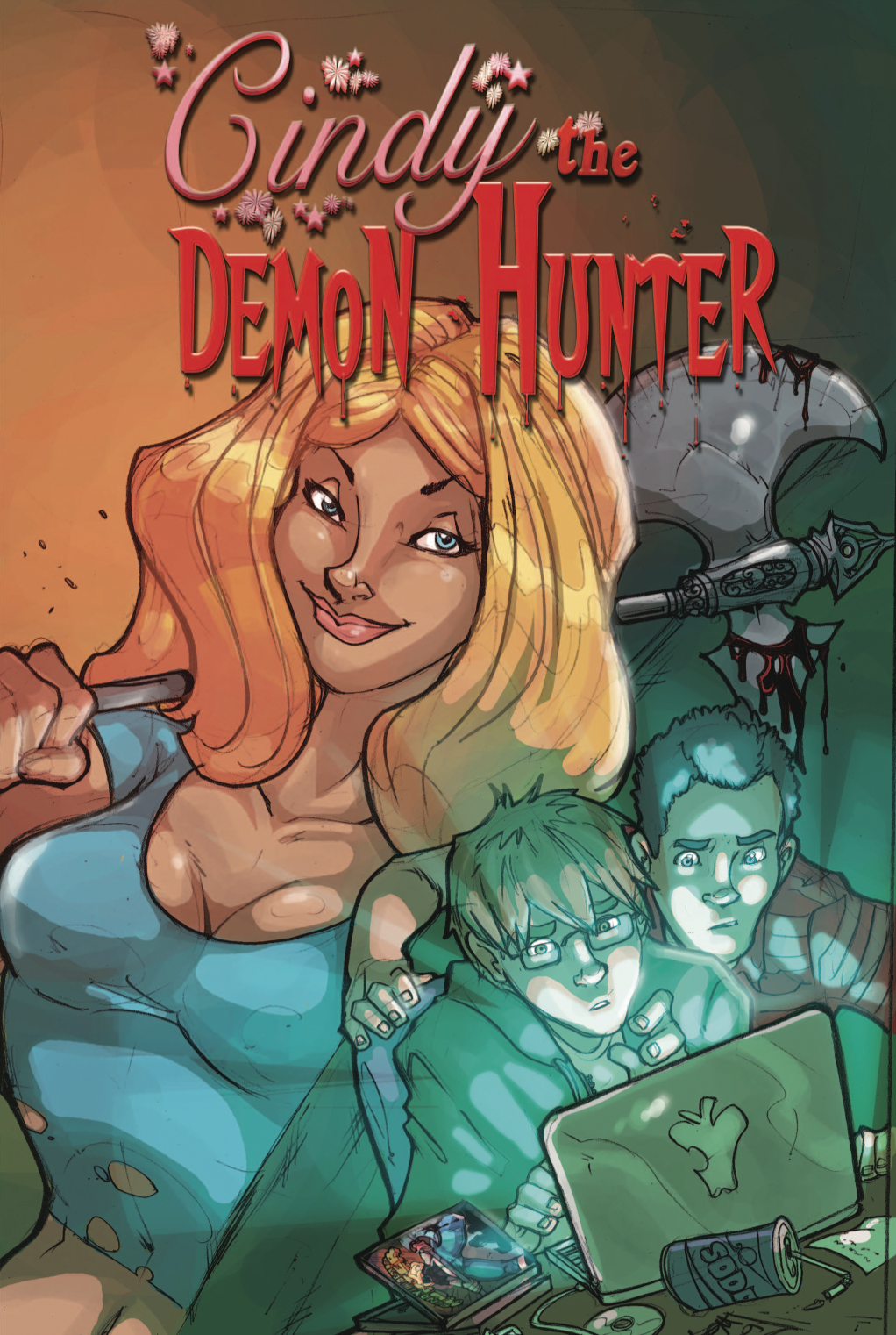 CINDY DEMON HUNTER GN (RES)