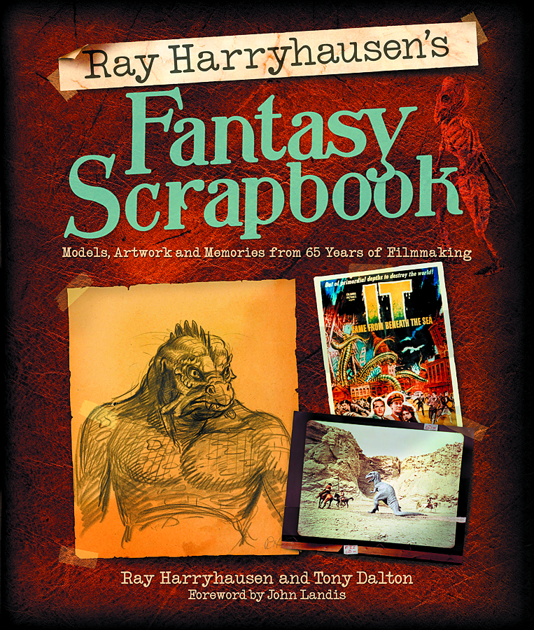 RAY HARRYHAUSENS FANTASY SCRAPBOOK HC