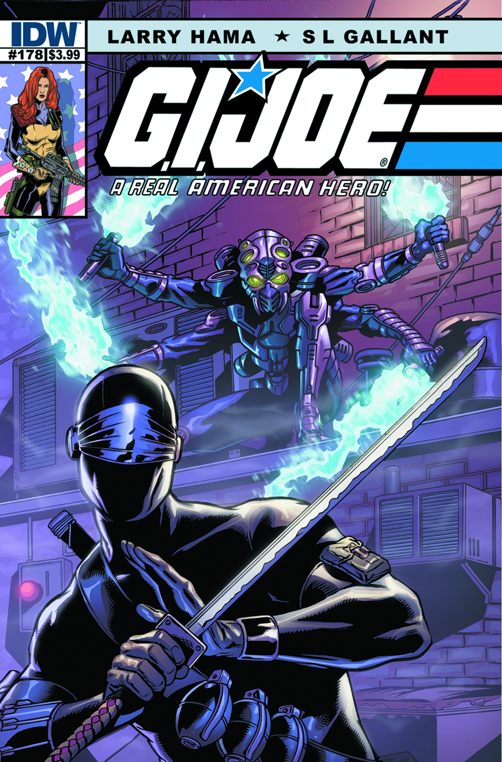 GI JOE A REAL AMERICAN HERO #178