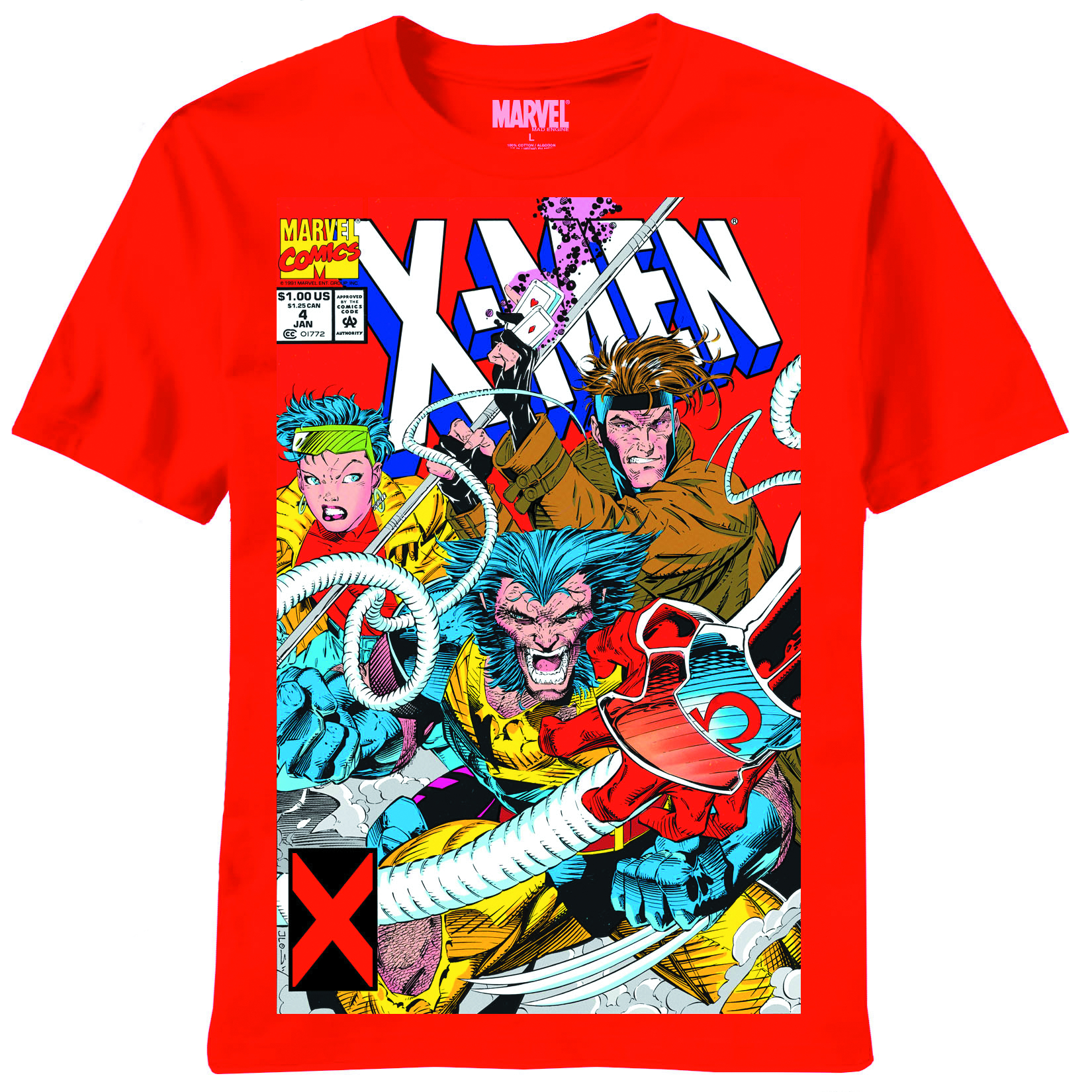 X-MEN OMEGA RED RED T/S XL