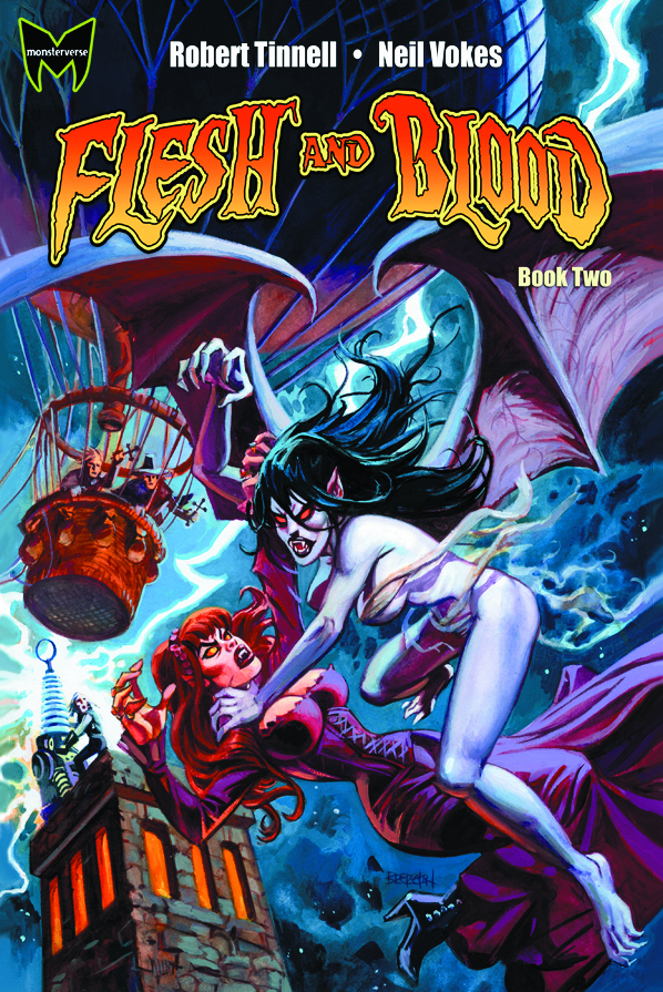 FLESH AND BLOOD GN VOL 02 (OF 4)