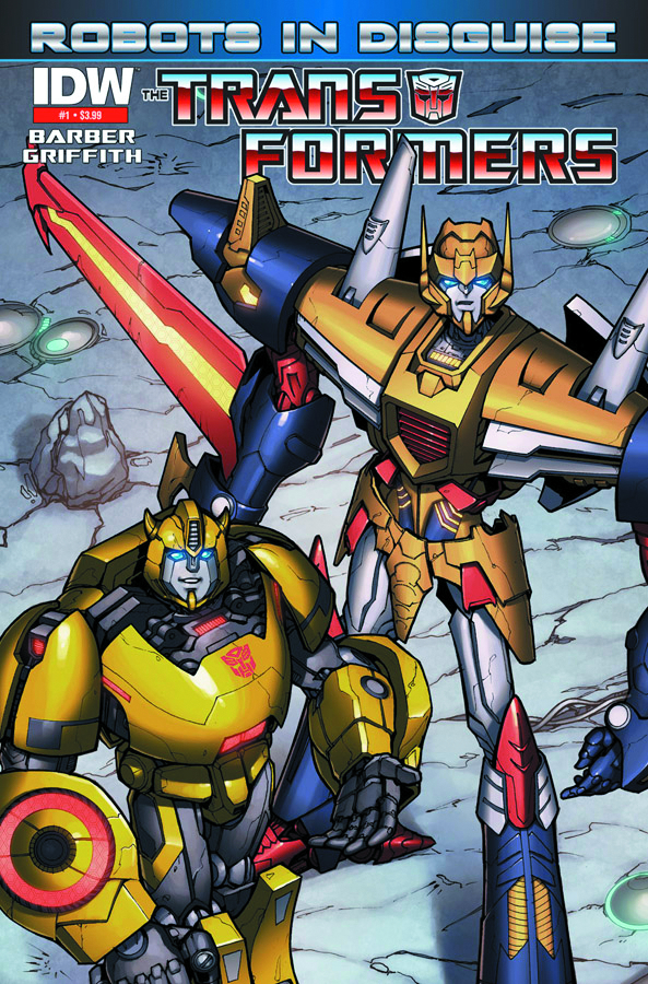 TRANSFORMERS ROBOTS IN DISGUISE #1 2ND PTG