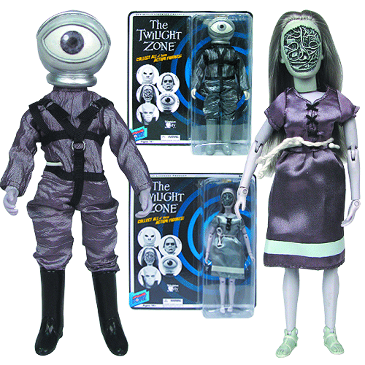 TWILIGHT ZONE 8-IN SERIES 7 AF ASST
