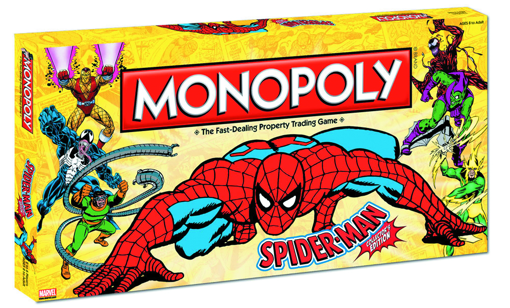 SPIDER-MAN COLLECTORS ED MONOPOLY