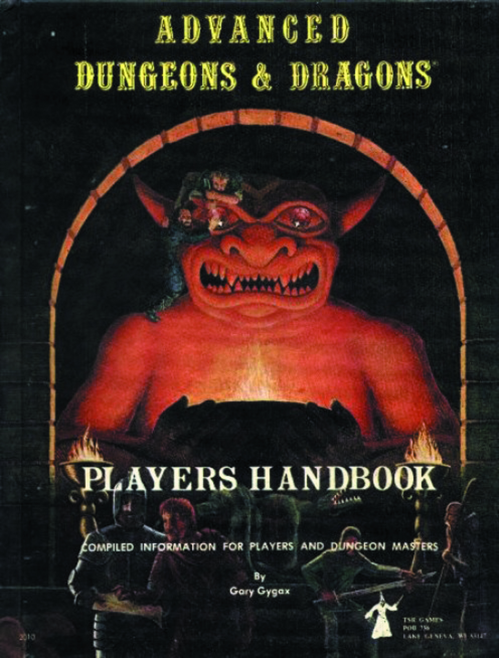 AD&D 1ST EDITION PREMIUM PLAYERS HANDBOOK HC