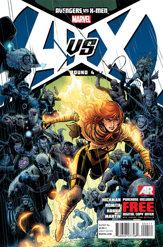 AVENGERS VS X-MEN #4 (OF 12) AVX