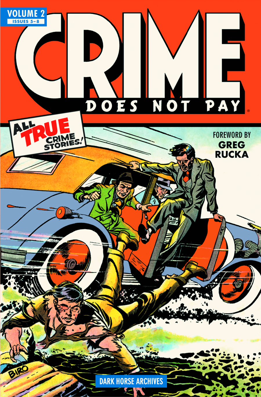 CRIME DOES NOT PAY ARCHIVES HC VOL 02
