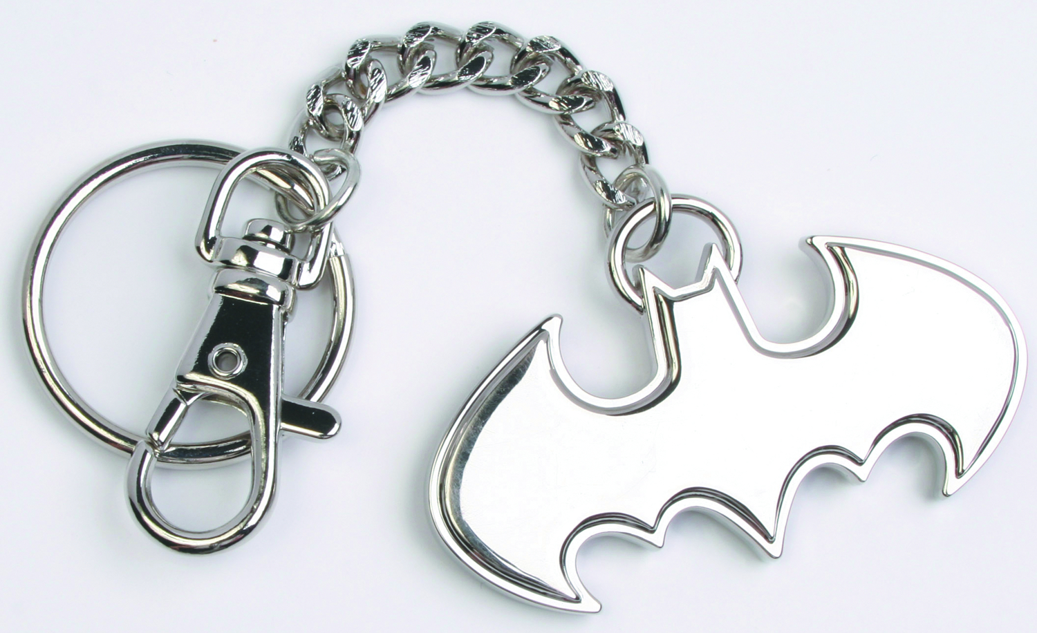 BATMAN STEEL KEYCHAIN