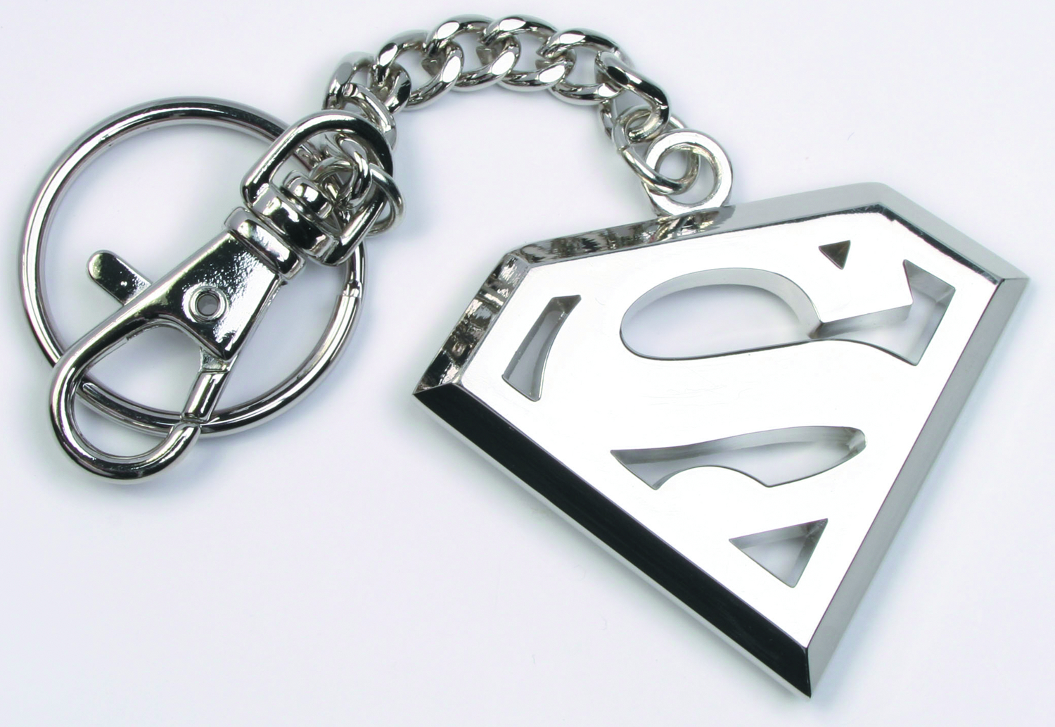 SUPERMAN STEEL KEYCHAIN