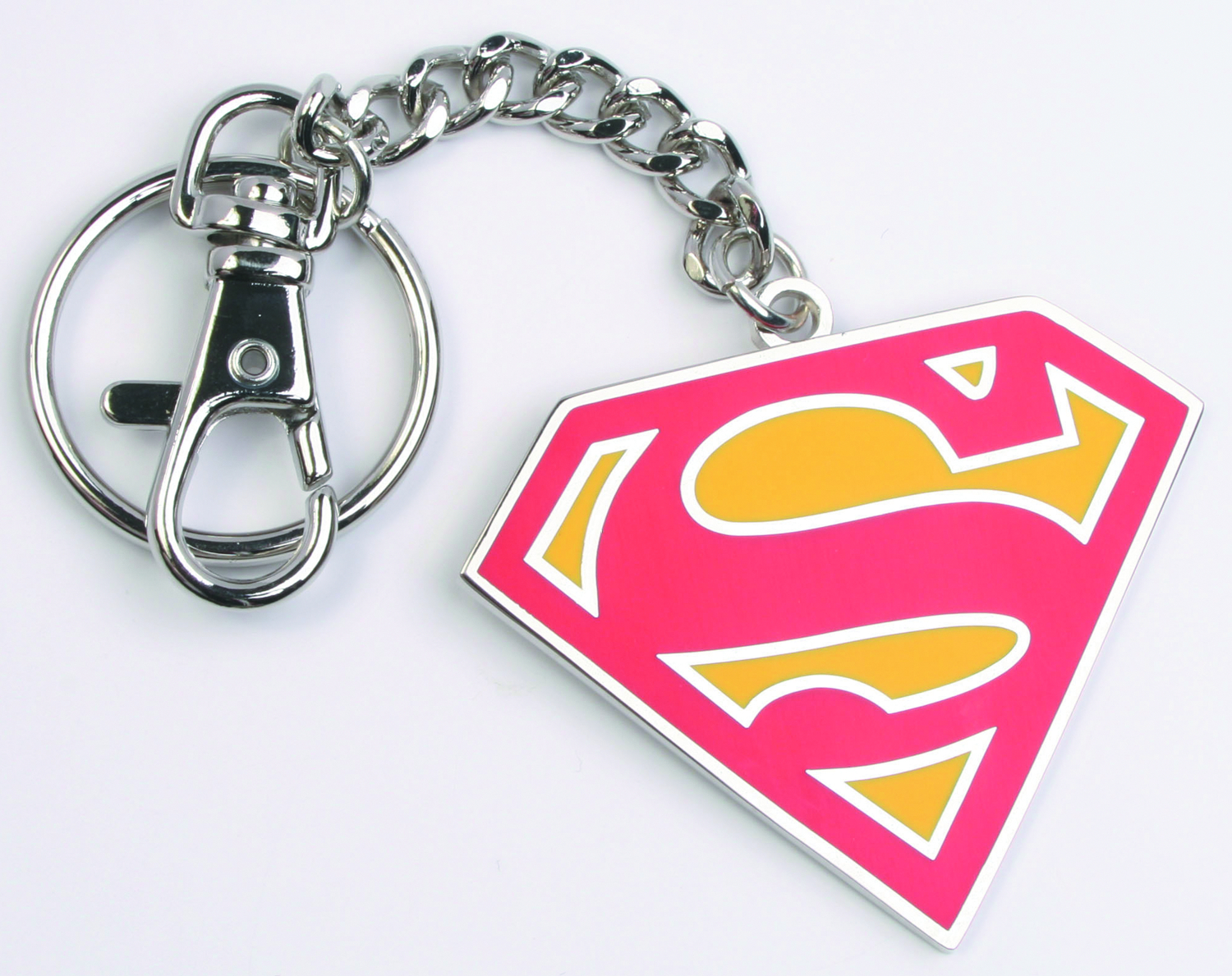 SUPERMAN RED KEYCHAIN