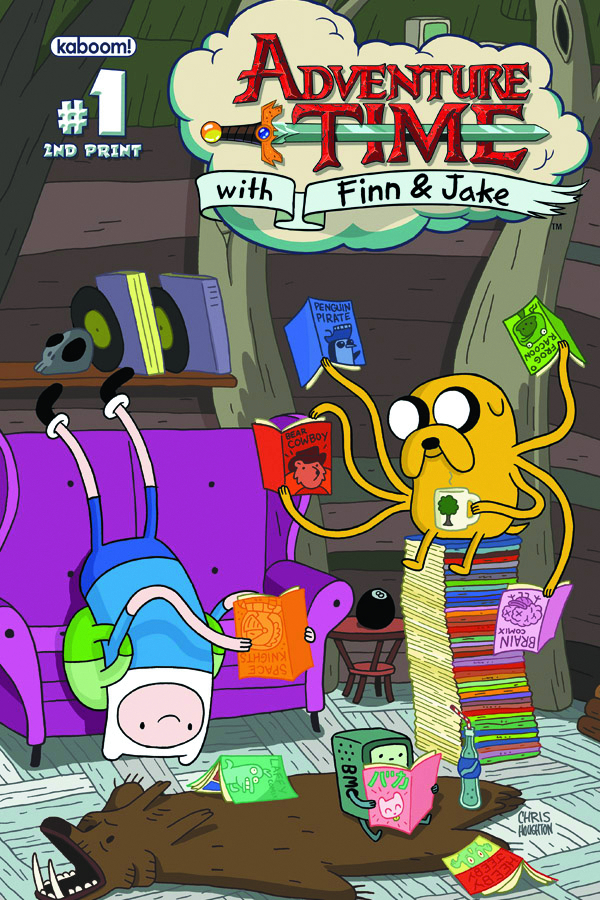 (USE FEB130842) ADVENTURE TIME #1 (2ND PTG) (PP #1009)