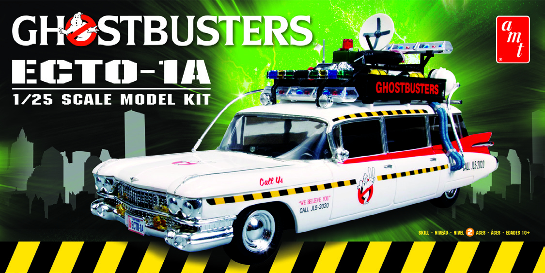GHOSTBUSTERS ECTO-1A 1/25 SCALE MODEL KIT