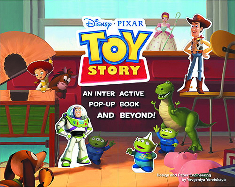 TOY STORY INTERACTIVE POP UP BOOK & BEYOND