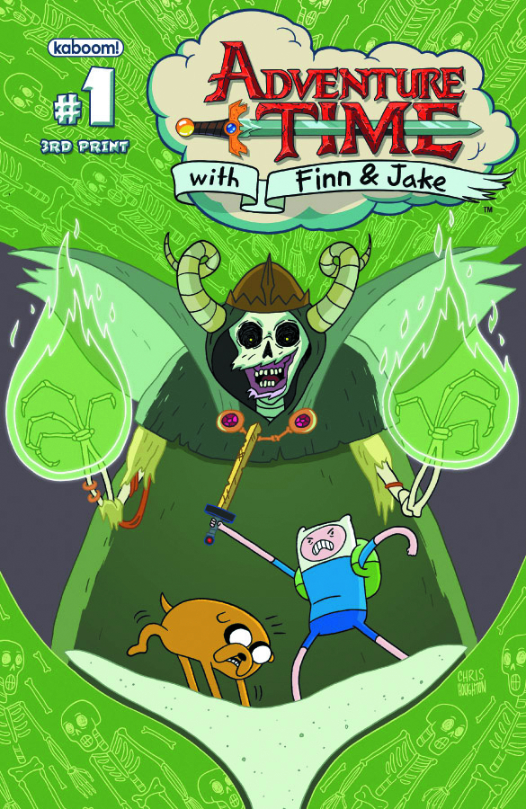 (USE FEB130842) ADVENTURE TIME #1 (3RD PTG)