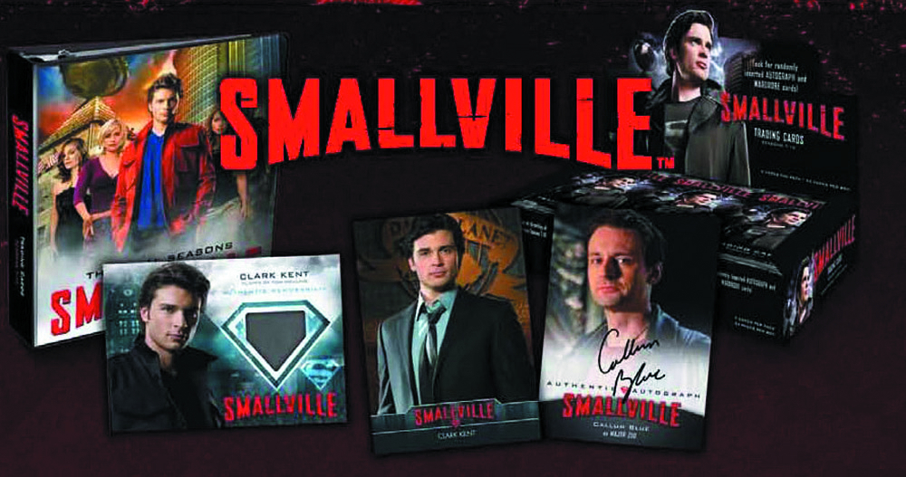 SMALLVILLE SEASON 7-10 T/C BINDER