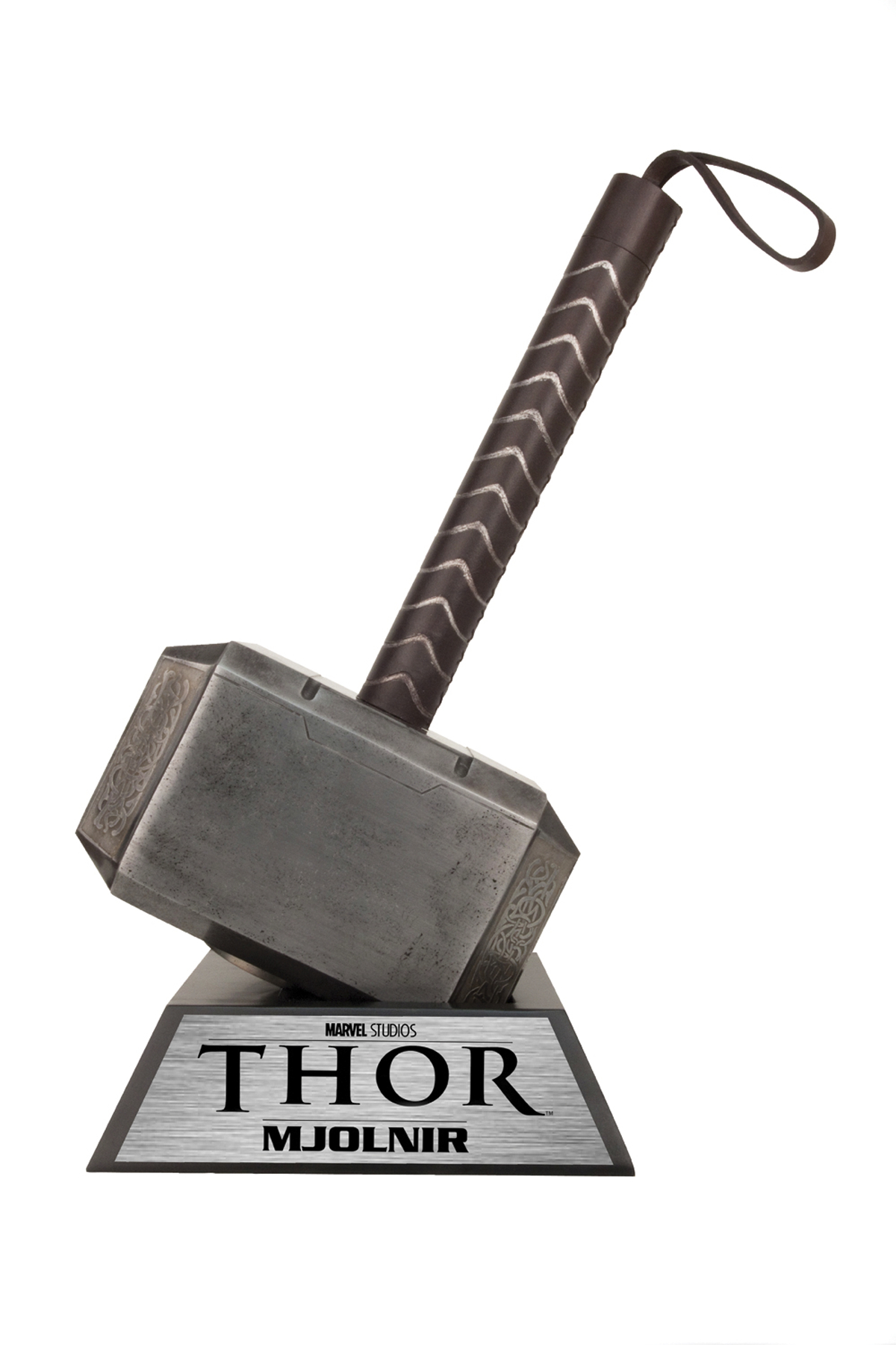 apr121779 thor movie hammer of thor prop replica previews world