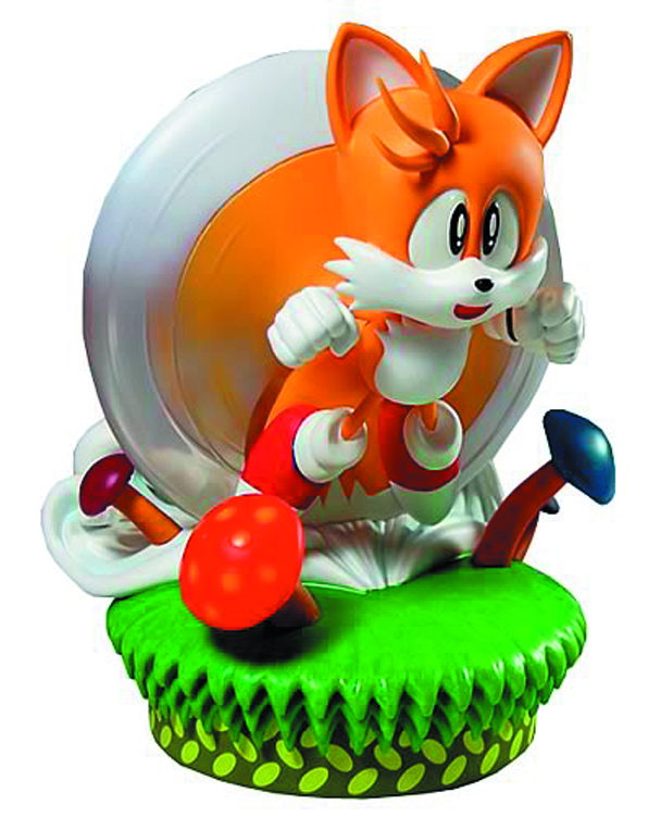 SONIC THE HEDGEHOG TAILS STATUE