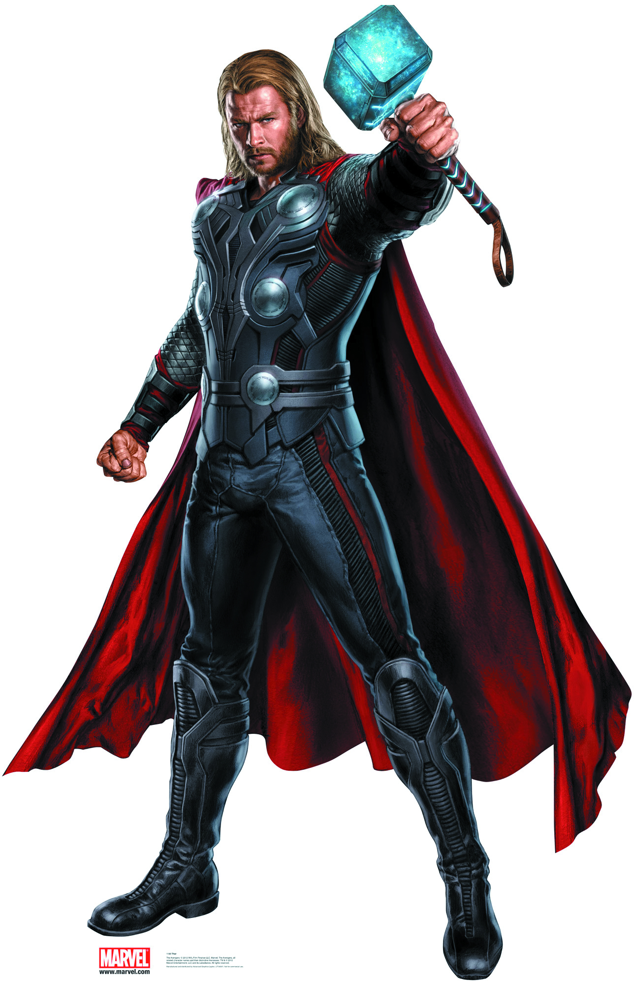 APR121900 - AVENGERS MOVIE THOR LIFE-SIZE STANDUP ...