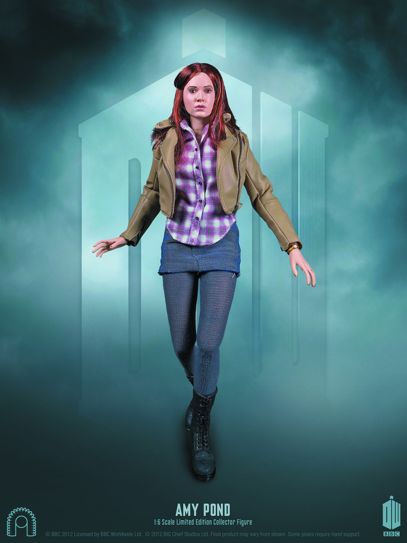 DOCTOR WHO AMY POND 1/6 SCALE FIG